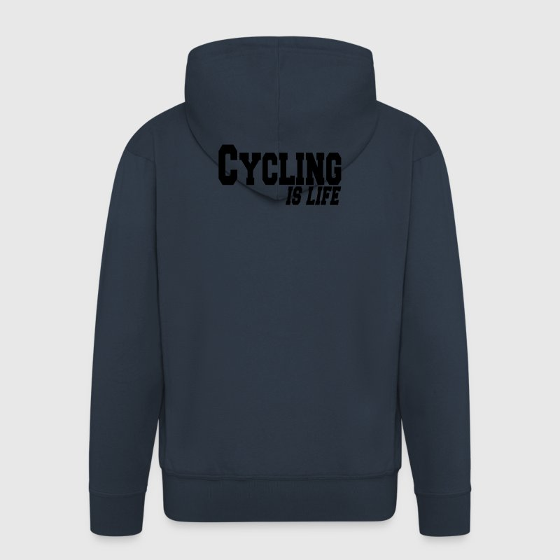 cycling is life Jacks - Mannenjack Premium met capuchon