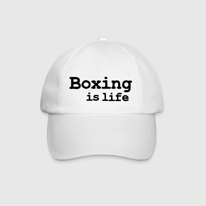 boxing is life Gorras - Gorra béisbol