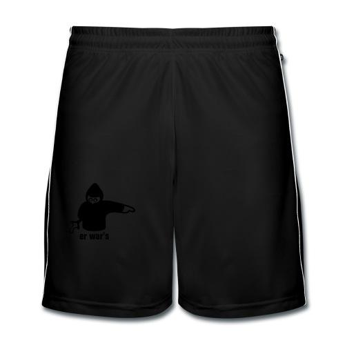 Er war's - Männer Fußball-Shorts