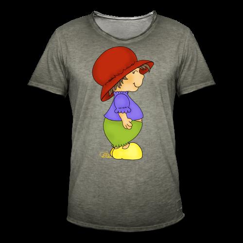 Gnubbelinchen (freche Farben) - Männer Vintage T-Shirt