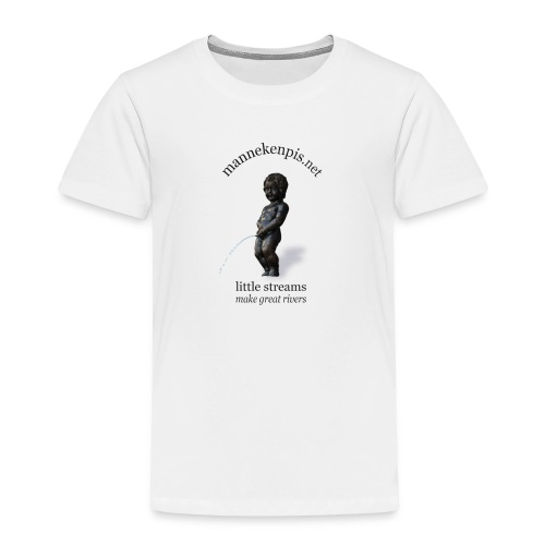 THE REAL 撒尿小童 - T-shirt Premium Enfant