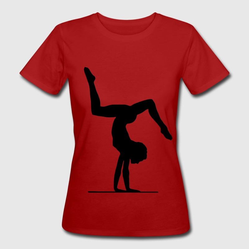 Gymnastics & floor exercise T-Shirts - Women's Organic T-shirt