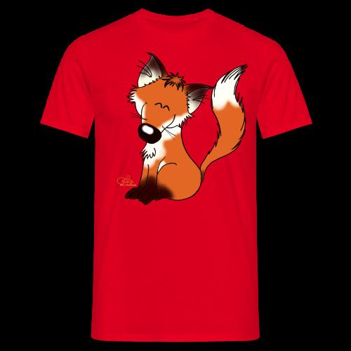 Foxy Fuchs (freche Farben) - Männer T-Shirt
