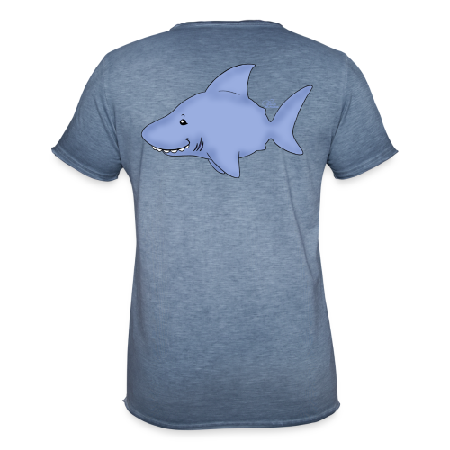 KinderShirt Hi Hai  - Männer Vintage T-Shirt