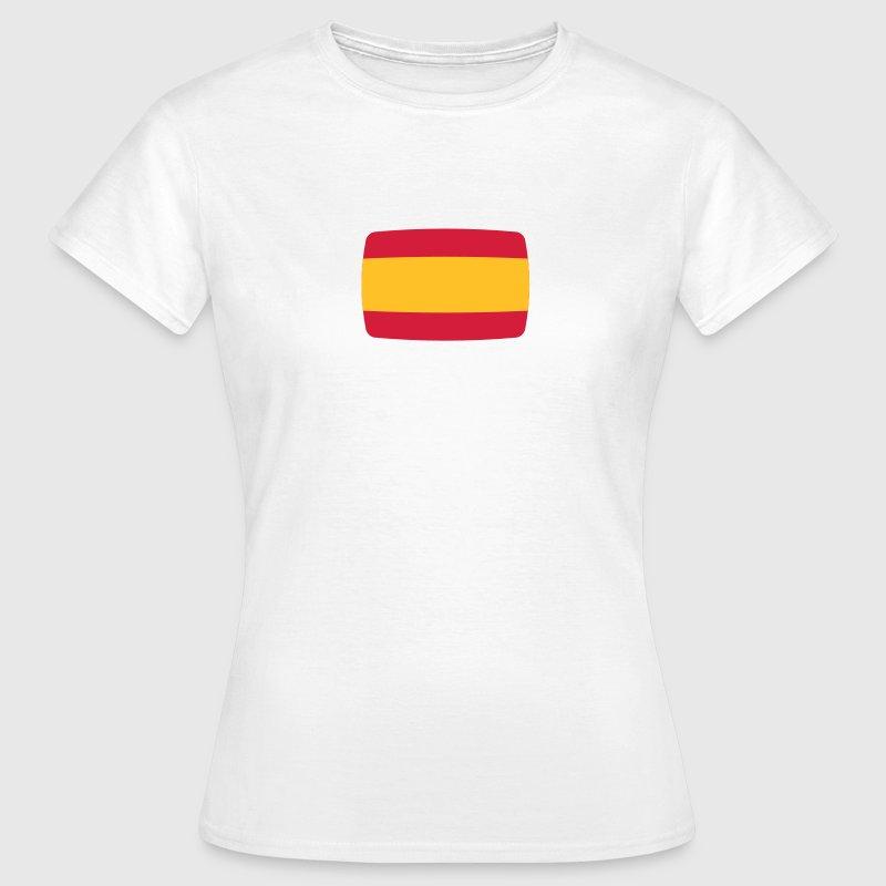 Drapeau Espagne Drapeau Espagne Espana espagnol T-shirts - T-shirt Femme