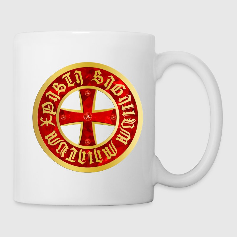 Templer Kreuz / Knights Cross Tasse Becher - Tasse