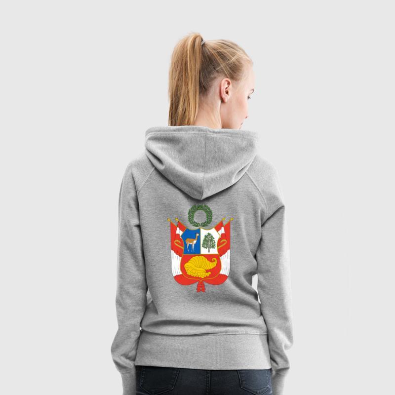 Crest Peru (dd) Pullover - Felpa con cappuccio premium da donna