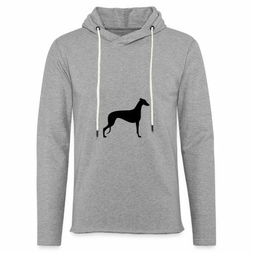 Greyhoundmotiv 1 - Leichtes Kapuzensweatshirt Unisex