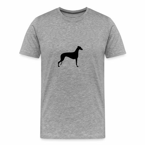 Greyhoundmotiv 1 - Männer Premium T-Shirt