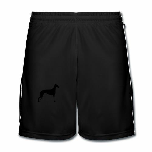 Greyhoundmotiv 1 - Männer Fußball-Shorts