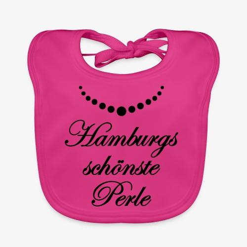 Hamburgs schönste Perle Frauen T-Shirt Hamburg meine Perle rot + alle Farben - Baby Bio-Lätzchen