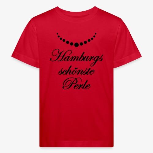 Hamburgs schönste Perle Frauen T-Shirt Hamburg meine Perle rot + alle Farben - Kinder Bio-T-Shirt