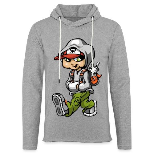 Graph Boy T-shirt Homme. - Sweat-shirt à capuche léger unisexe