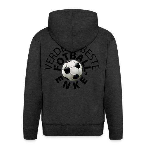 Fotball-enke - Premium Hettejakke for menn