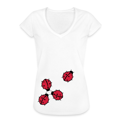 Marienkäfer - Frauen Vintage T-Shirt