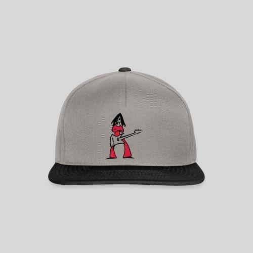 bass-girl 2farben - Snapback Cap