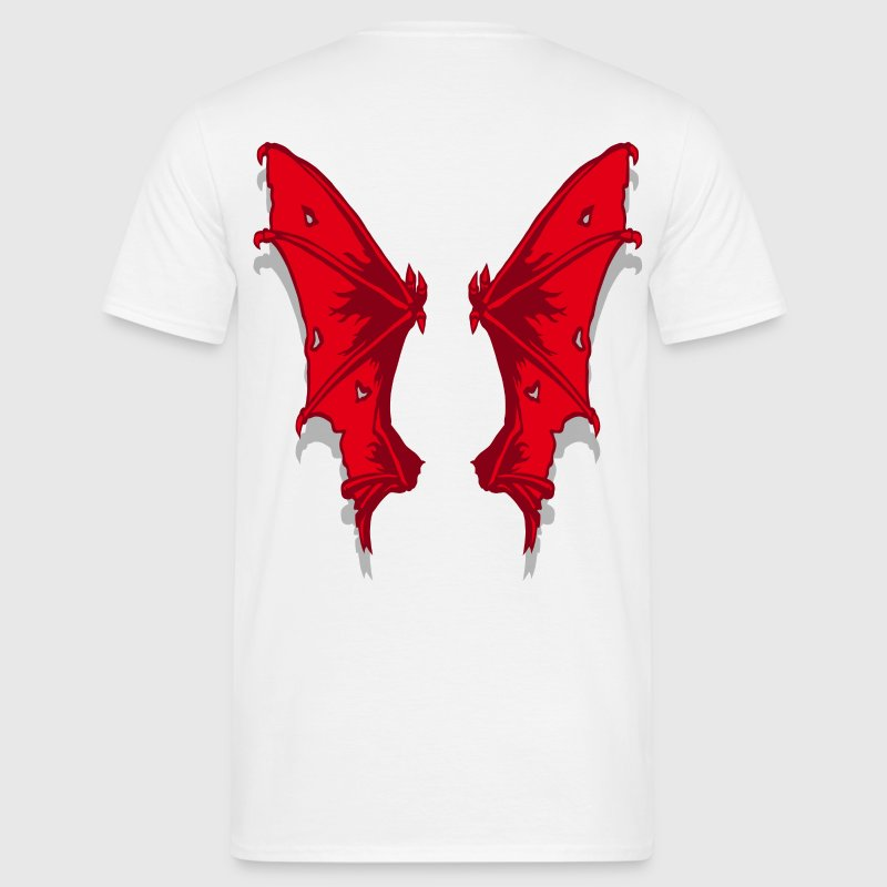 Wings of demon - Männer T-Shirt