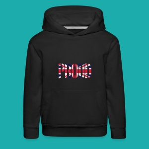 PROUD Britain Flag, British Flag, Union Jack, UK Flag - Kids' Premium Hoodie