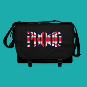 PROUD Britain Flag, British Flag, Union Jack, UK Flag - Shoulder Bag