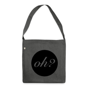 oh? - Schultertasche aus Recycling-Material