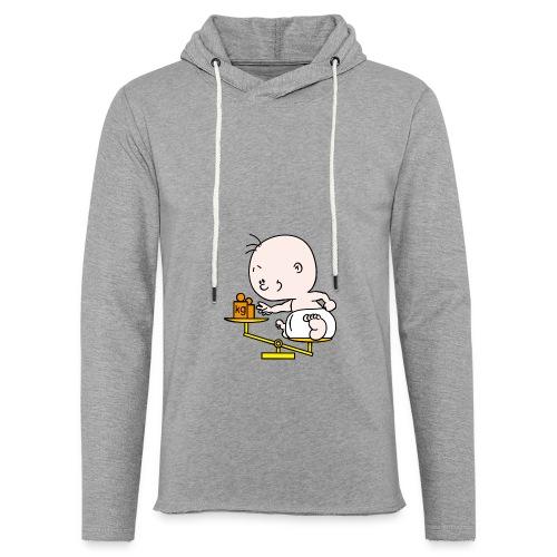 Baby T-shirt weegschaal - Lichte hoodie unisex