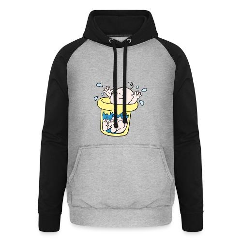 Baby T-shirt tummytub - Unisex baseball hoodie