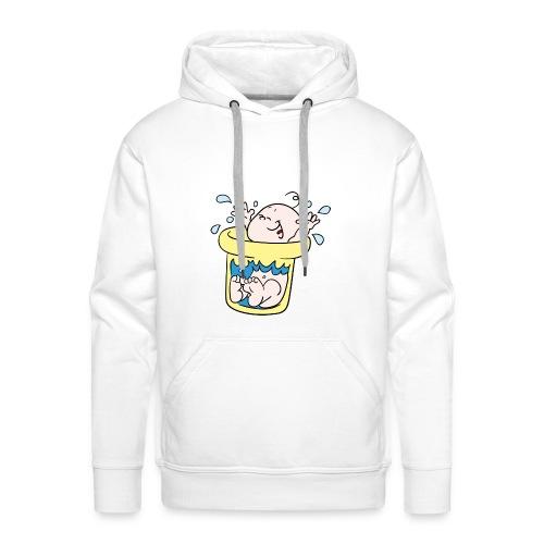 Baby T-shirt tummytub - Mannen Premium hoodie