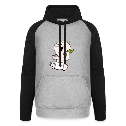 Baby T-shirt mobiel - Unisex baseball hoodie