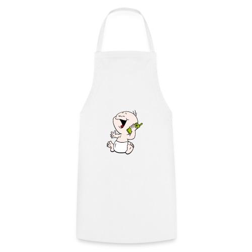 Baby T-shirt mobiel - Keukenschort