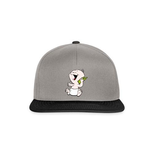 Baby T-shirt mobiel - Snapback cap