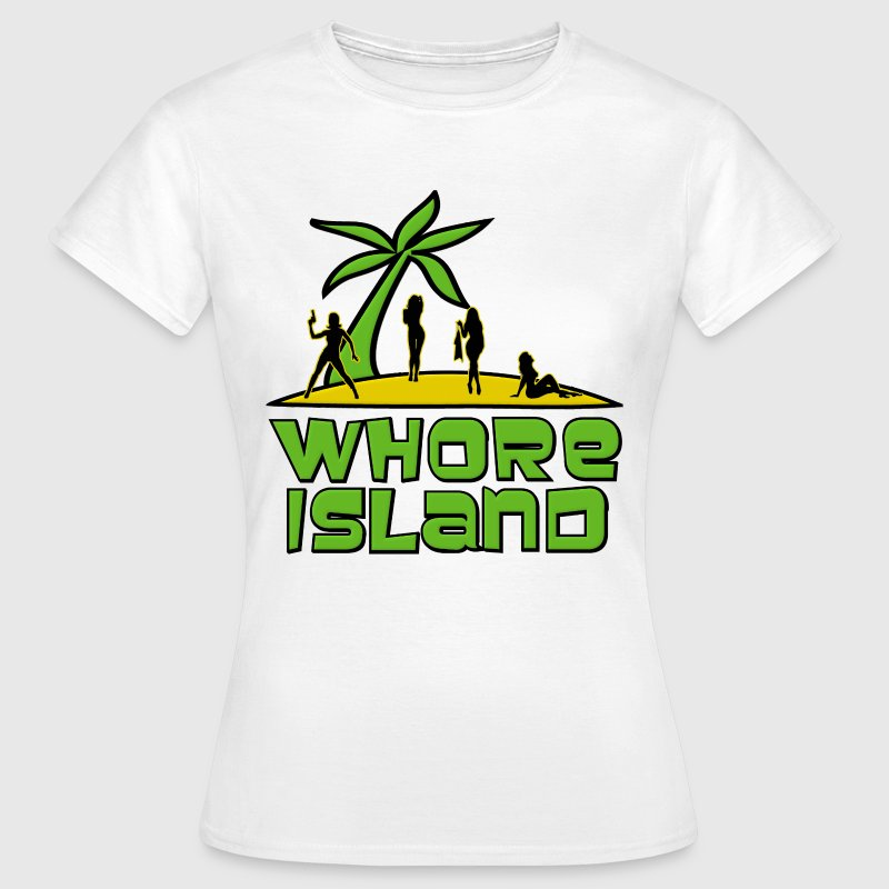 Archer Whore Island T-Shirts - Women's T-Shirt
