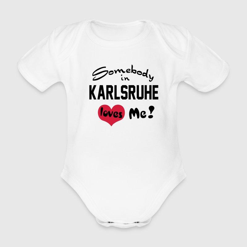 karlsruhe Baby Body - Baby Bio-Kurzarm-Body