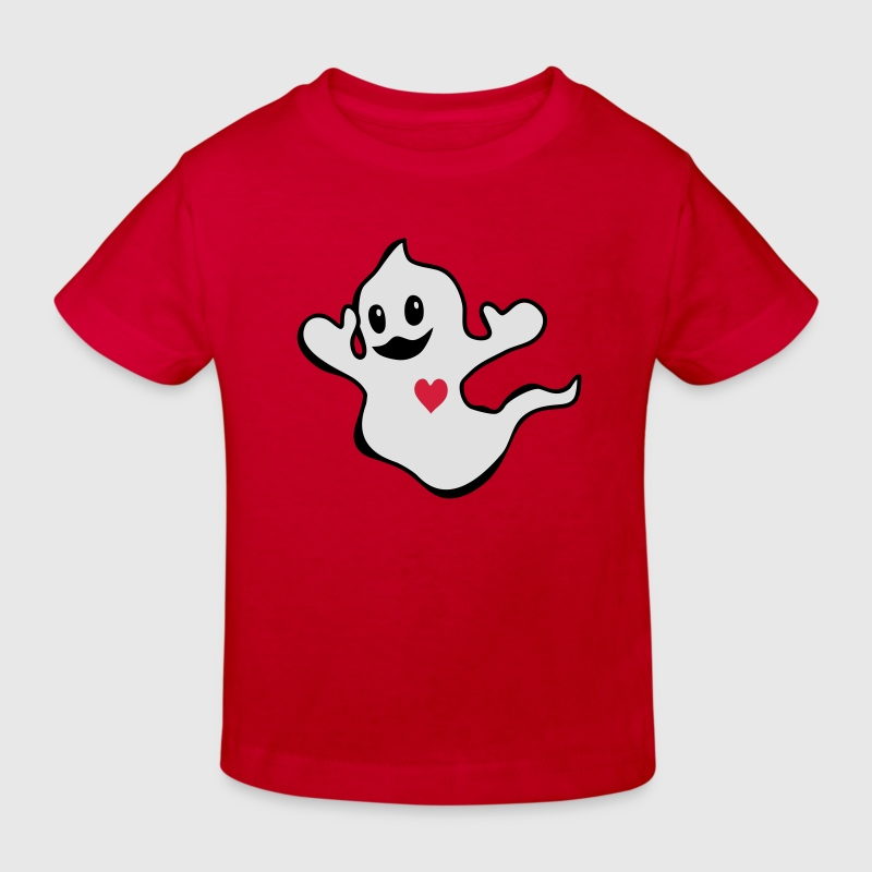 Ghost Barn-T-shirts - Ekologisk T-shirt barn