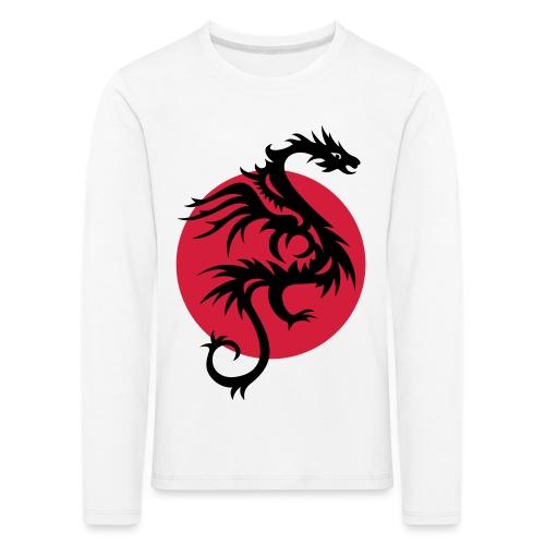 DRAGON SUN   Kochschürze - Kinder Premium Langarmshirt