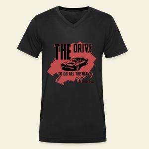 Dodge Charger - Økologisk Stanley & Stella T-shirt med V-udskæring til herrer