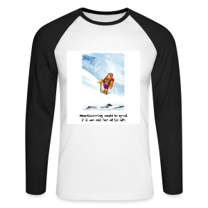 07. Mountain - Men's Long Sleeve Baseball T-Shirt