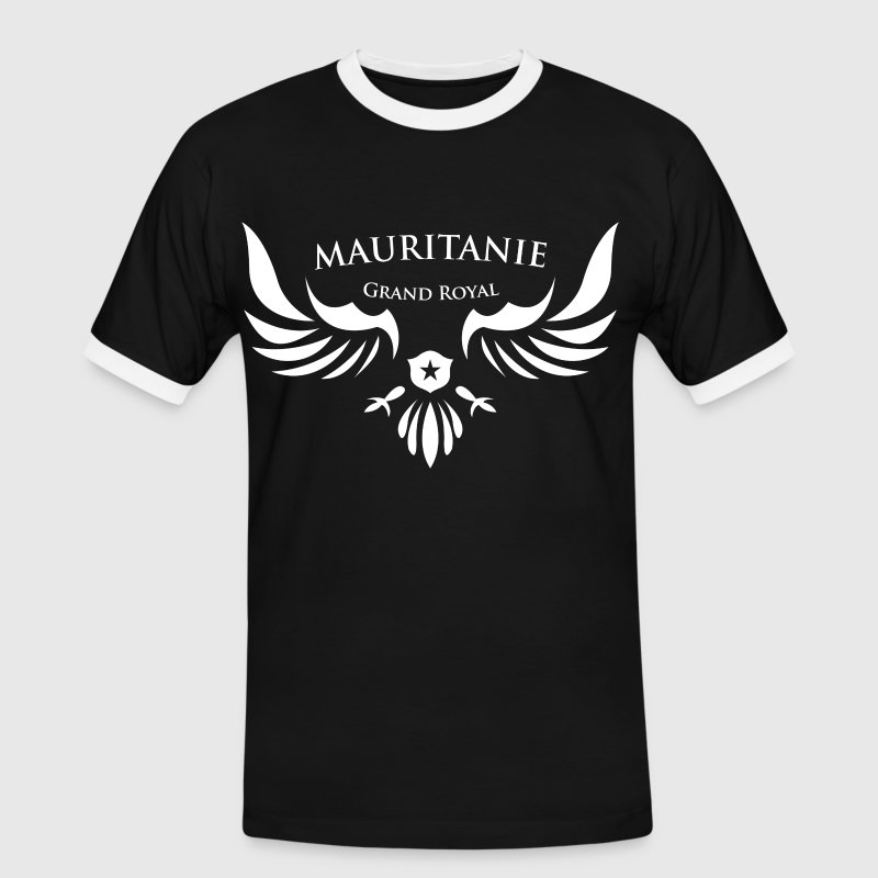 Mauritanie T-shirts - T-shirt contraste Homme