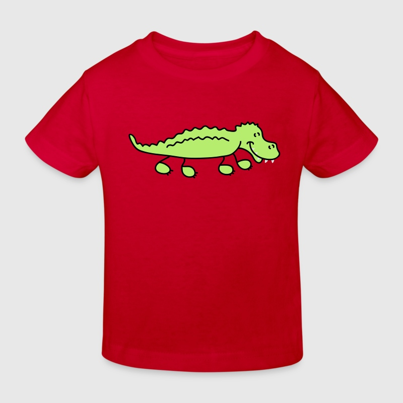 Crocodile T-shirts Enfants - T-shirt Bio Enfant