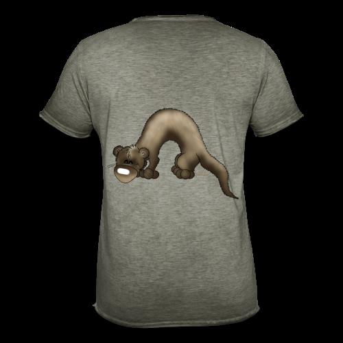 KinderShirt Frettchen Bo - Männer Vintage T-Shirt