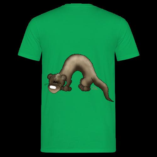 KinderShirt Frettchen Bo - Männer T-Shirt