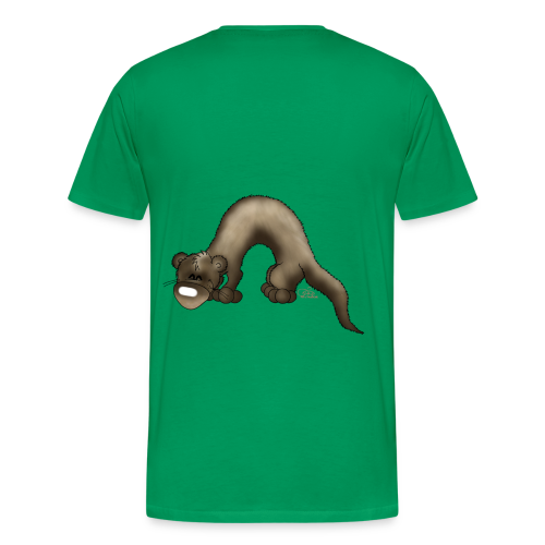 KinderShirt Frettchen Bo - Männer Premium T-Shirt