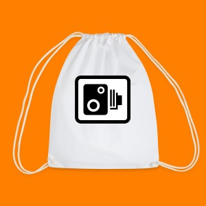 speed camera mug - Drawstring Bag