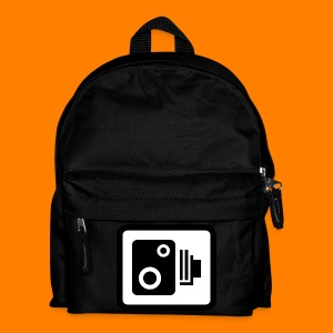 speed camera mug - Kids' Backpack