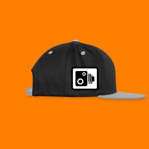 speed camera mug - Contrast Snapback Cap