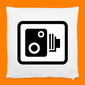 speed camera mug - Pillowcase 40 x 40 cm
