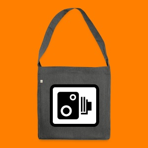 speed camera mug - Shoulder Bag made from recycled material