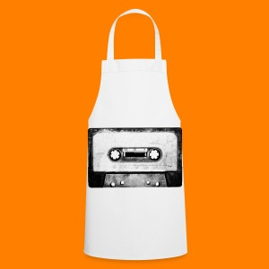 classic tee with huge cassette tape - Cooking Apron