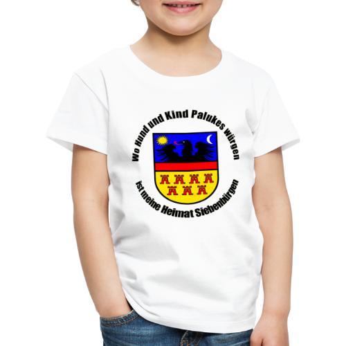 Schürze 'Wo Hund und Kind Palukes würgen...' - Kinder Premium T-Shirt
