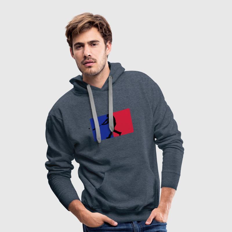baseball Pullover - Männer Premium Hoodie