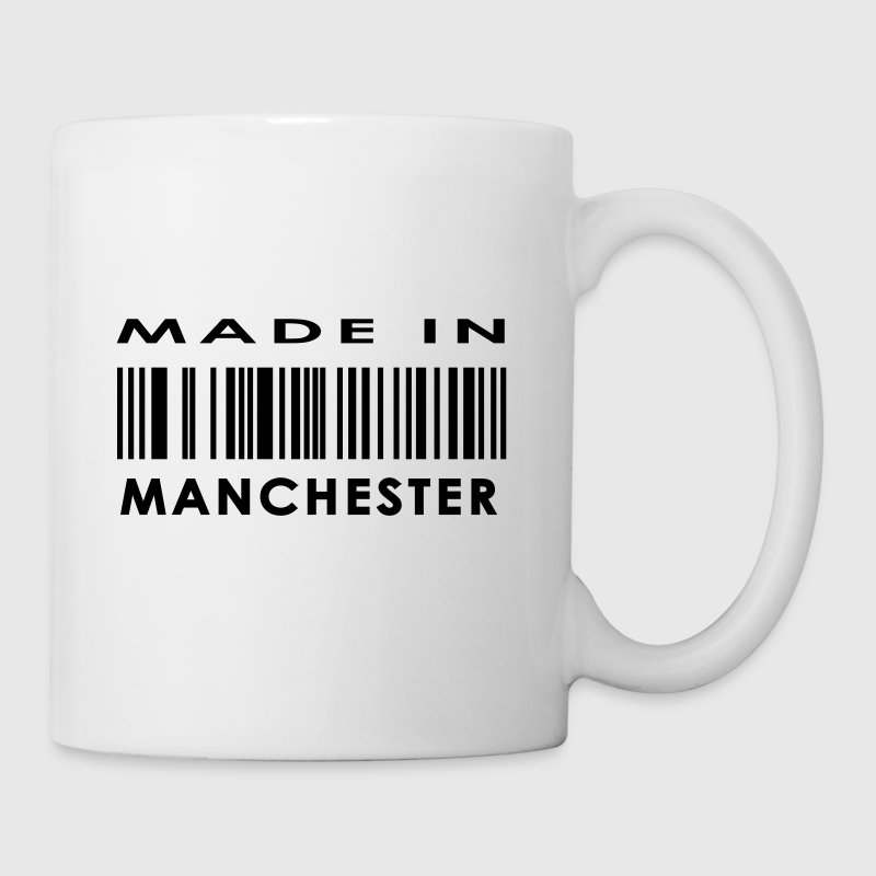 Made in Manchester Mugs  - Mug